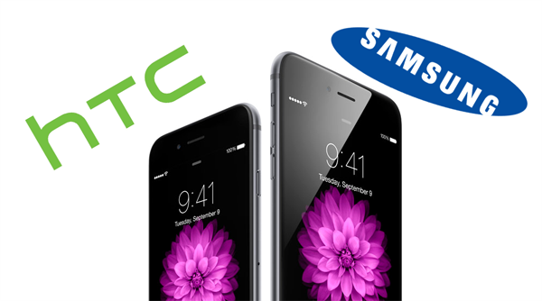 iPhone 6 HTC Samsung