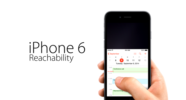 iPhone 6 Plus Reachability