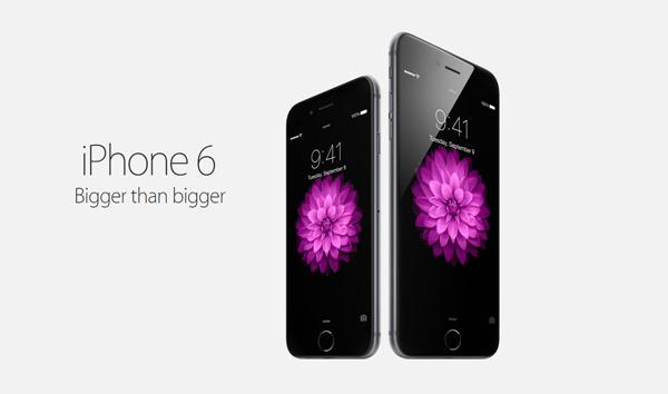 iPhone 6 bigger than bigger