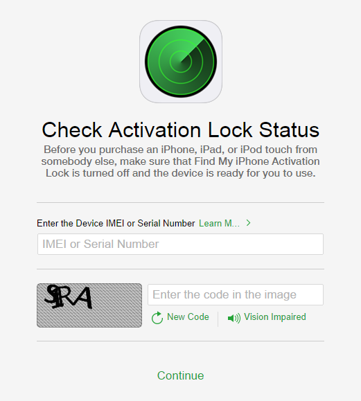 Activation Lock tool