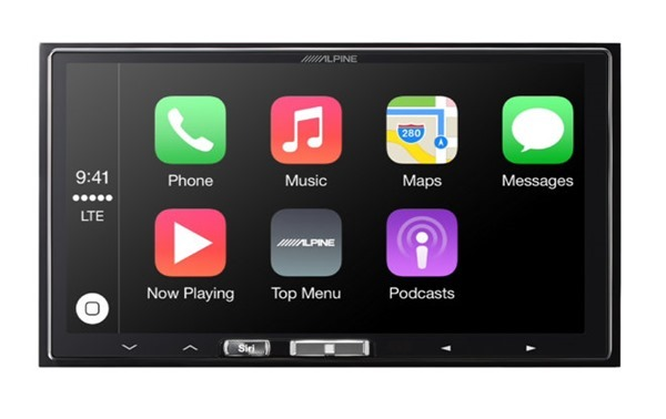 Alpine CarPlay front
