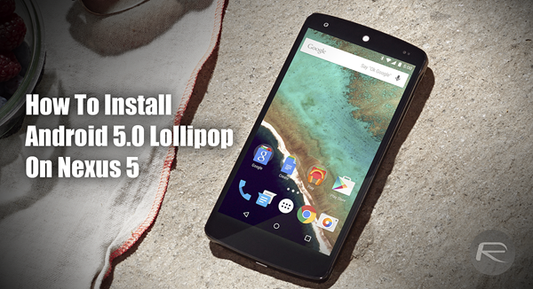 Android Lollipop how to main
