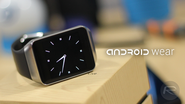Android Wear Gear Live