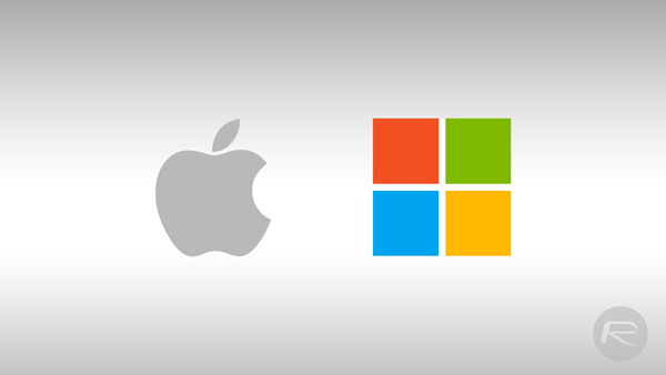 Apple Microsoft main