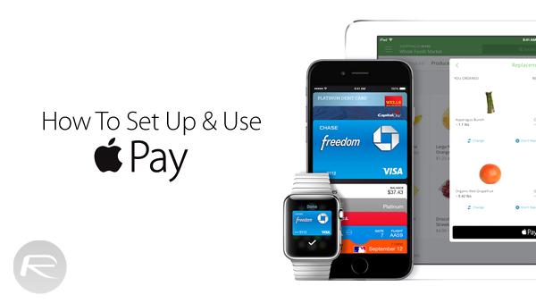 Apple Pay setup