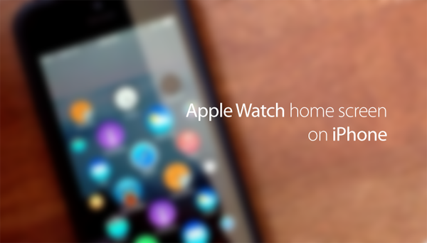 Apple Watch UI copy