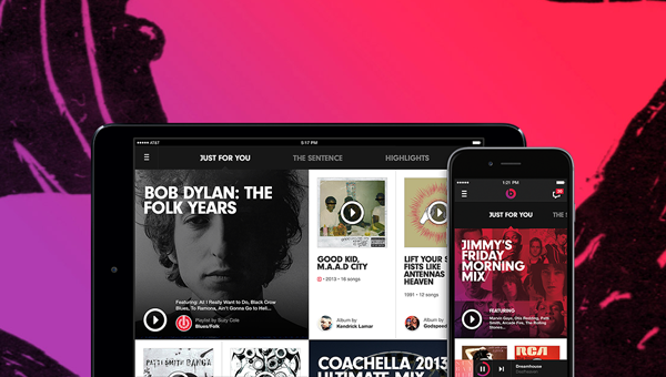 Beats Music main