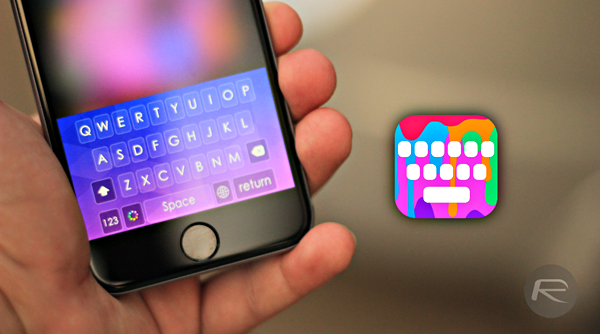 This Third-Party iOS 8 Keyboard Adds A Splash Of Color To Your