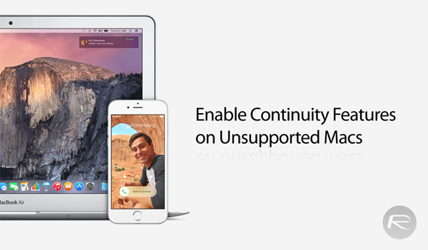 Continuity Mac