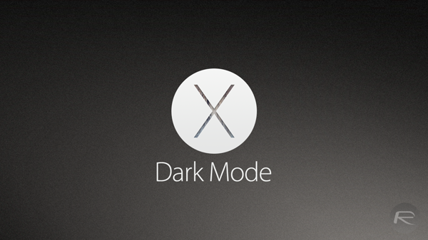 Dark Mode Yosemite main