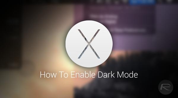 Dark Mode main