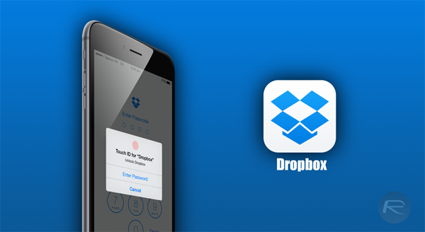 Dropbox iPhone 6
