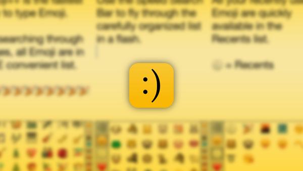Emoji keyboard main