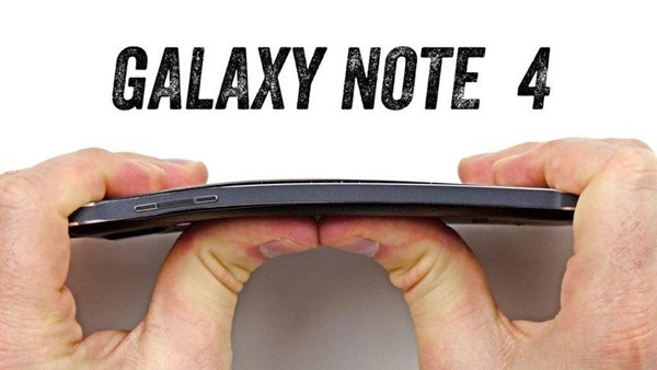 Galaxy Note 4 bend test main