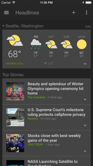 Google News Weather App (2)