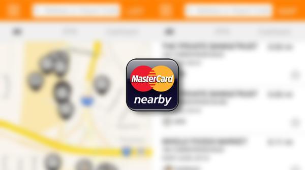 MasterCard Nearby main