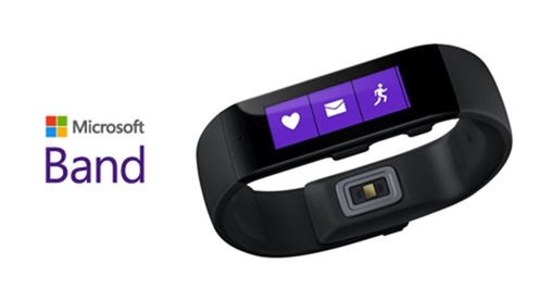 Microsoft Band front