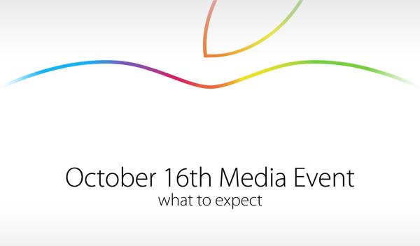 October 16 media event main
