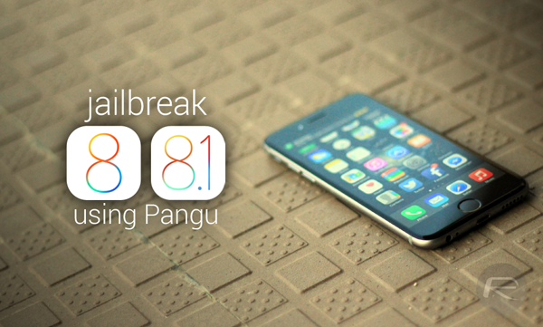 How To Jailbreak iOS 8.1 Untethered Using Pangu8 | Redmond Pie