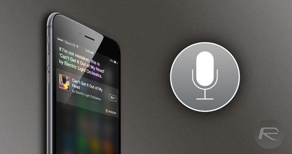 Siri Shazam main