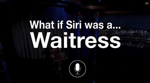 Siri Waitress main