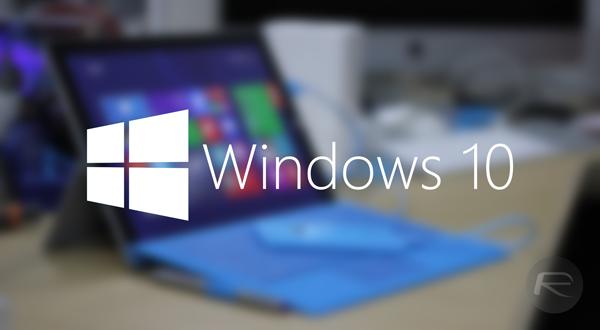 Windows 10 main