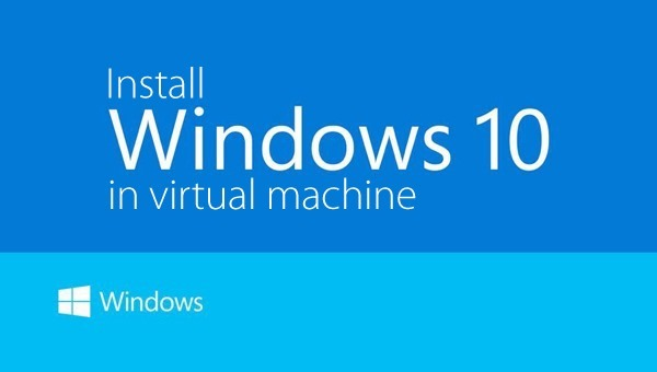 Windows 10 virtual machine