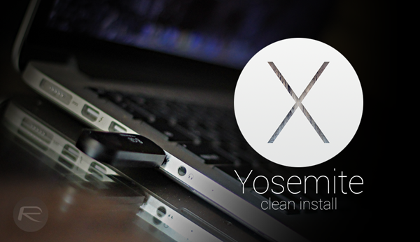 Yosemite clean install main