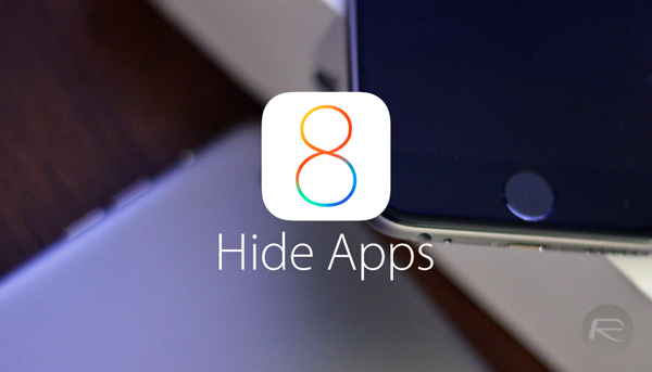 hide apps ios 8