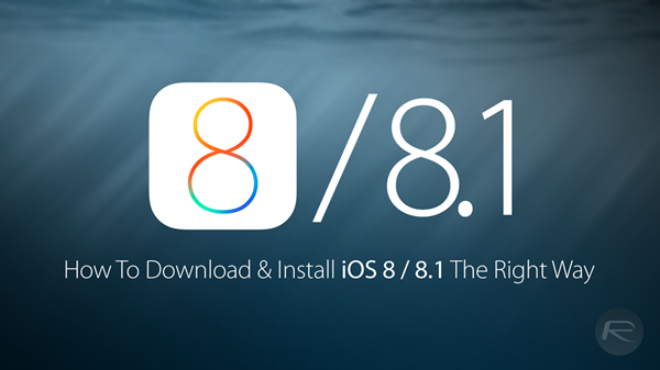 Download iOS 8, 8 1, 8 1 1 And Install On iPhone 6, 5s, 5c, 5, 4S