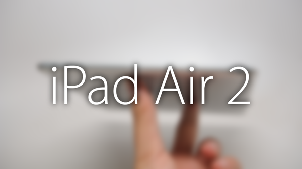 iPad Air 2 new leak