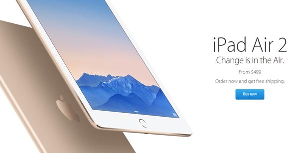 iPad Air 2 order