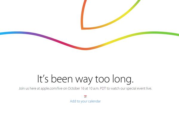 iPad event live