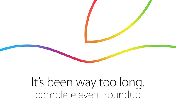iPad iMac event roundup