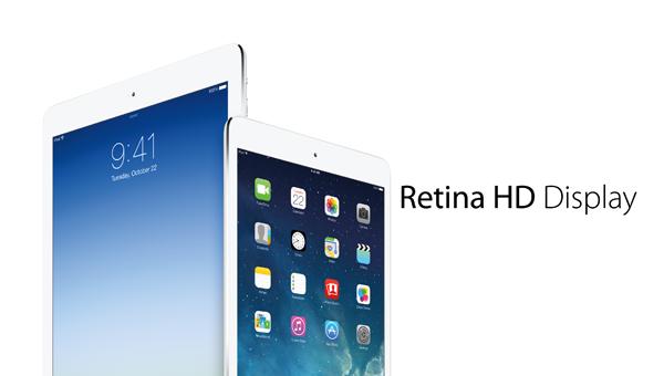 iPad retina HD