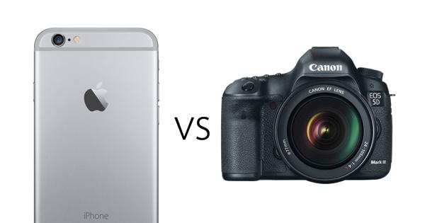 iPhone 6 vs 5D Mark III