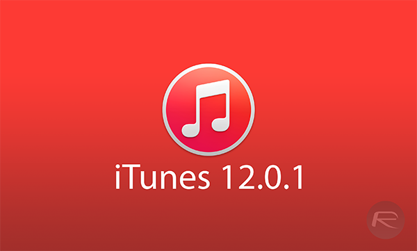 iTunes 1201 main