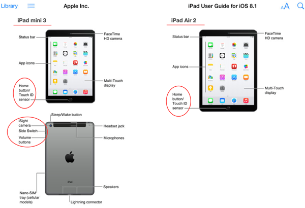 ipad air 2 mini 3 user guide