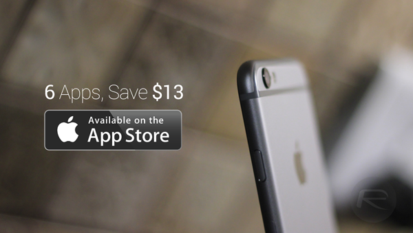 Save $13 On These Awesome 6 Paid iOS Apps By Downloading Them Absolutely Free Today