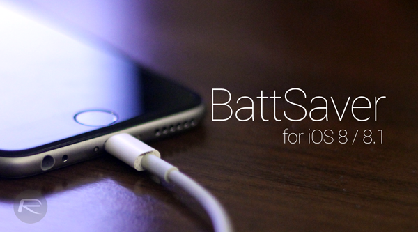 BattSaver ios 8 main