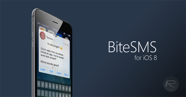 BiteSMS IOS 8