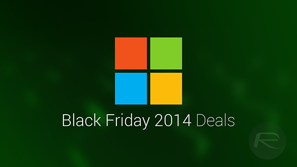 Black Friday 2014 Microsoft main