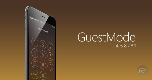 GuestMode ios 8