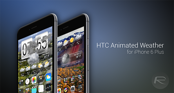 HTC Animated Weather iPhone 6 Plus main