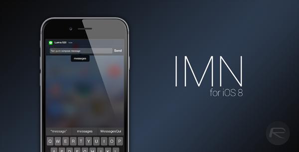IMN for iOS 8
