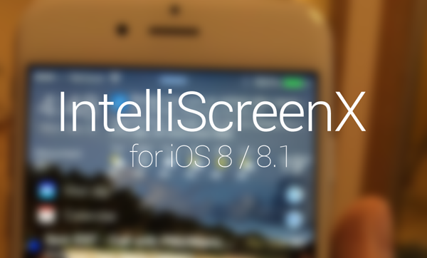 IntelliScreenX main