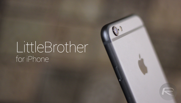 LittleBrother iPhone main