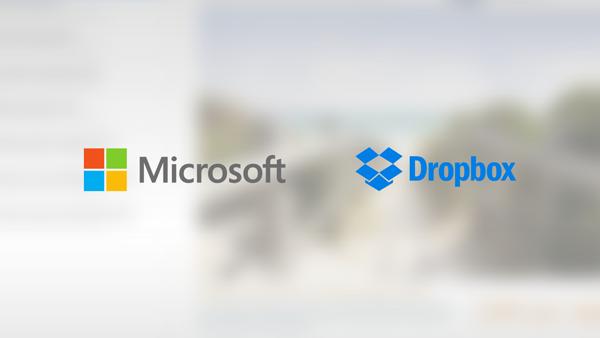MS Dropbox main