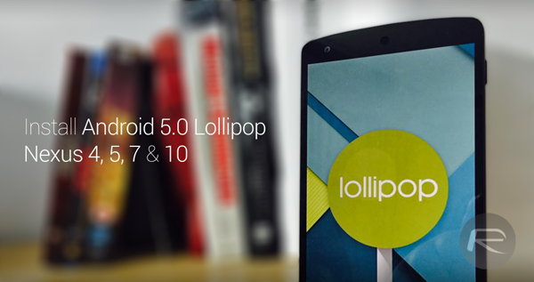 Nexus lollipop guide main