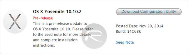 OS X 10102 mac dev